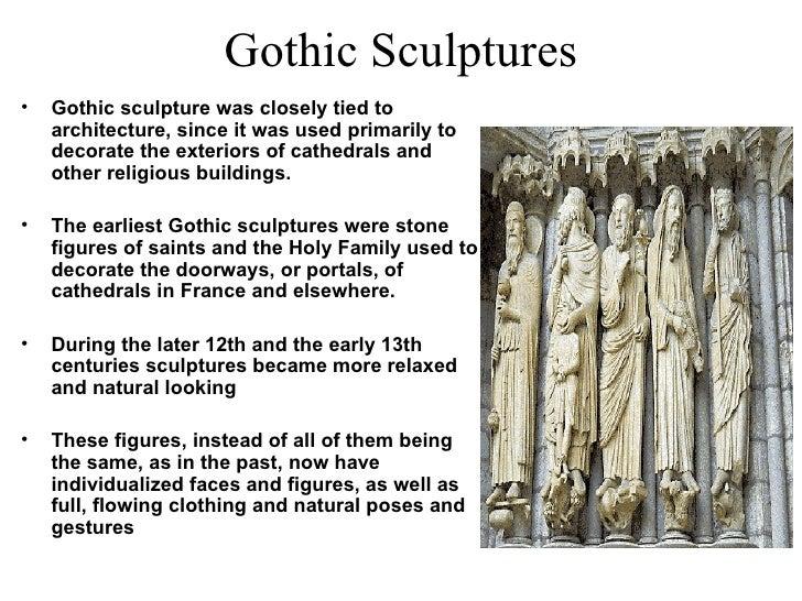 Gothic Sculptures ...