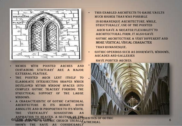 Gothic architecture, an introduction