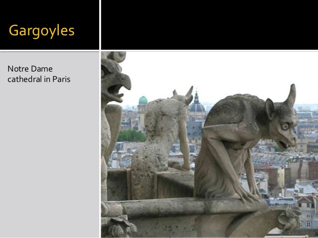 Gargoyles Notre Dame Cathedral In Paris