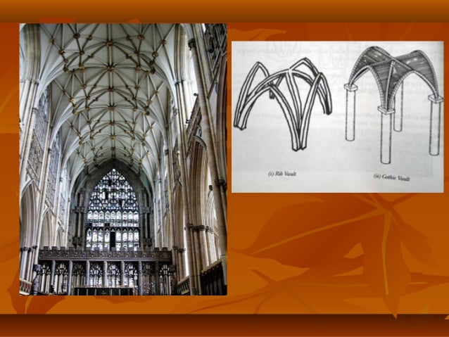 Gothic architecture is characterized by tall minarets pointed arches, large windows and stained glass painted with Bible s...