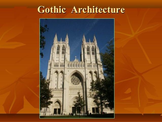 Gothic ArchitectureGothic Architecture