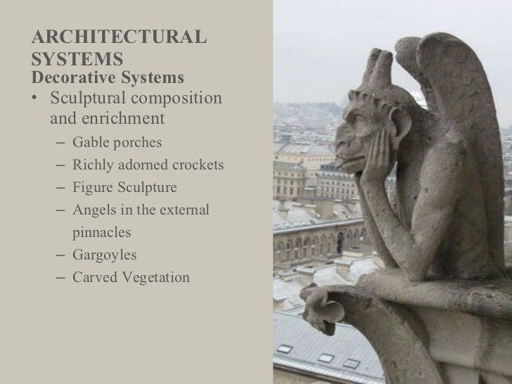 ARCHITECTURAL  SYSTEMS <ul><li>Decorative Systems </li></ul><ul><li>Sculptural composition  and enrichment </li></ul><ul><...