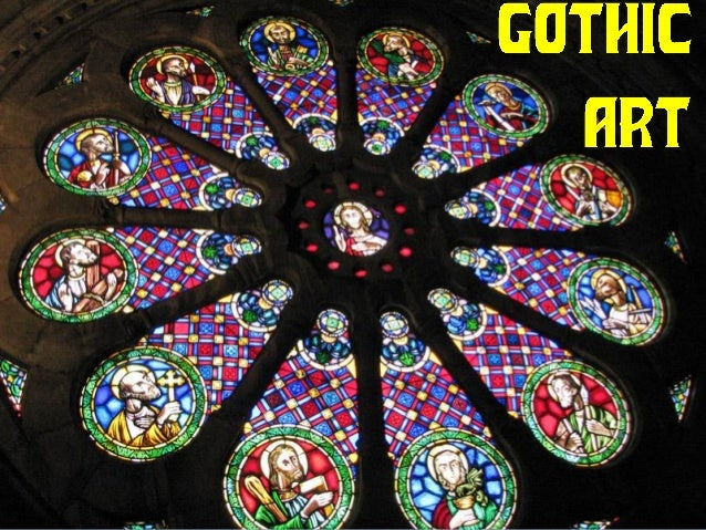 In the High Middle Ages there were also changes in European art. A new style developed: GOTHIC ART.  Chronology: 12th - 1...