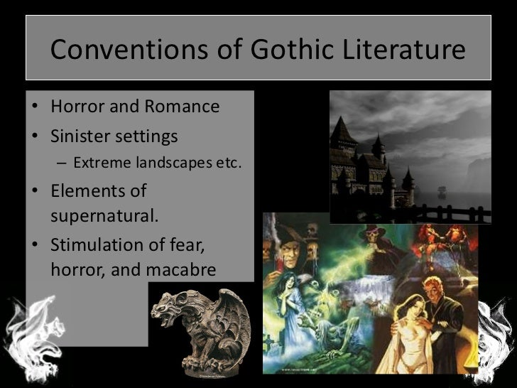 a literary analysis of the gothic novels Gothicism in the fall of the house of usher  poe and his gothic novels  gothic fiction has a unique position in the literary history 3 analysis of gothic.