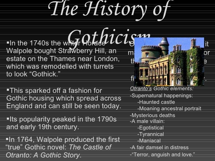 gothicism and gothic elements in coleridge s Gothic supernatural and romanticism gothicism gothic literature developed as a genre in 18 th century it is devoted to tales of horror, the darker, supernatural.