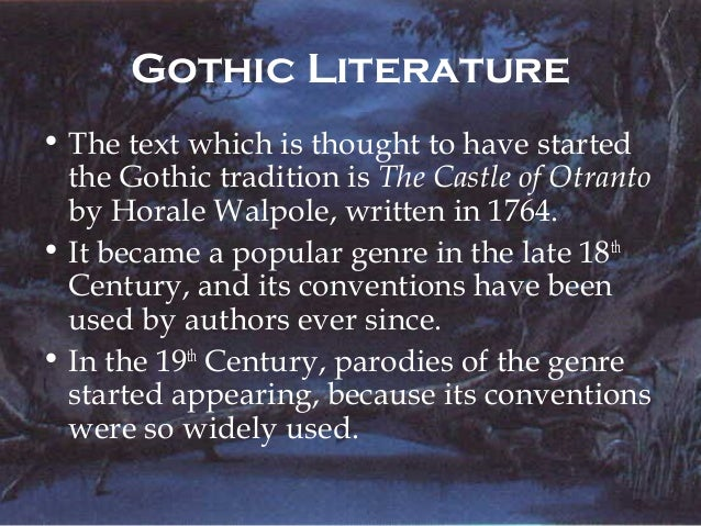 conventions of the gothic genre Weather conventions of gothic genre villian-hero (satanic, promethean, byronic hero) the villain of a story who either 1) poses as a hero at the beginning of the story or 2) simply possesses enough heroic characteristics (charisma, sympathetic past, etc) so that either the reader or the other characters see the villain-hero as more than a.