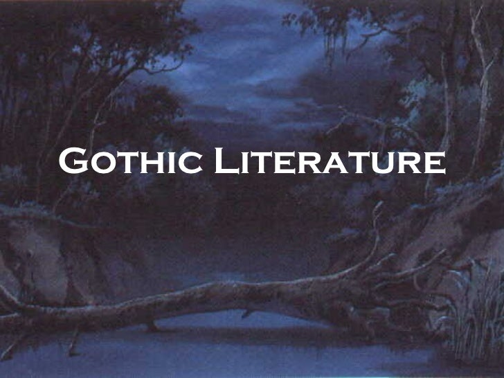 what larger genre is gothic writing a part of