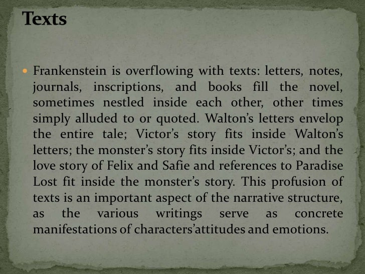 frankenstein victor suffering in silence essay