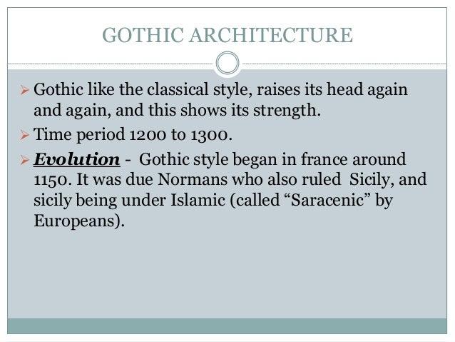 Gothic n renessance Slide 2