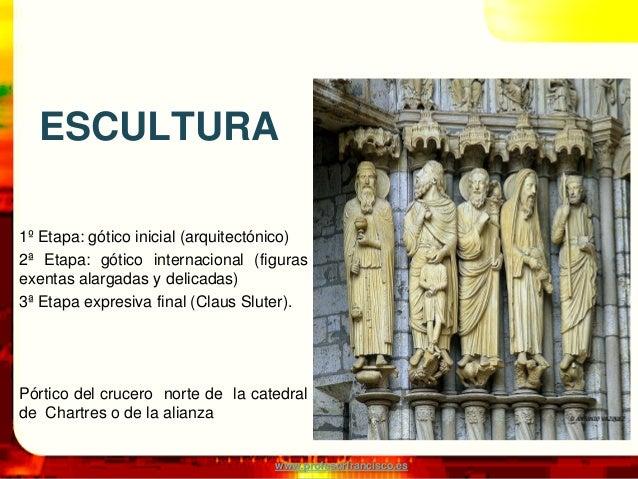 Gotico: escultura y pintura Slide 3