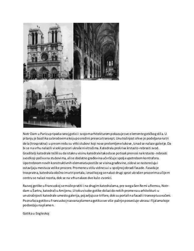 Širenje gotike uEngleskoj najviše se vezuje zakenteberijskogbiskupaTomasaBeketai razvoj cistersitskogreda.Katedrale uEngle...