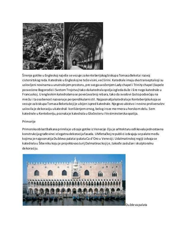 Ca d'Oro,Vencija Gotičkaskulptura Slikasvetanagotičkimportalimabila je uslovljenarasporedomscenakojesuprikazivale celokupn...