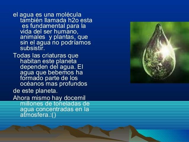 Gotitas de agua Slide 2