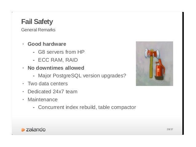 Monitoring You need it... Nagios/Icinga PGObserver pg_view · · · 29/37