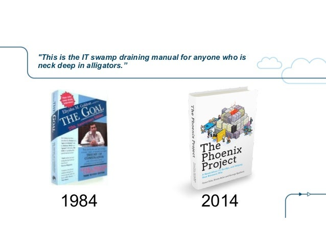 """""""This is the IT swamp draining manual for anyone who is neck deep in alligators."""" 1984 2014"""