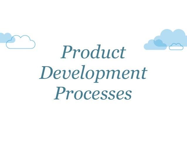 Product Development Processes