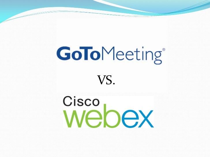 Gotomeeting vs webex usability analysis What is gotomeeting