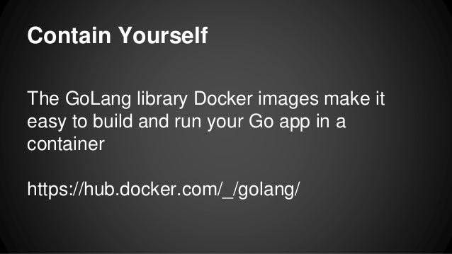 how to build a web server in go