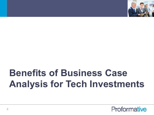 How To Build A Great CloudSaas Business Case Analysis For Technology