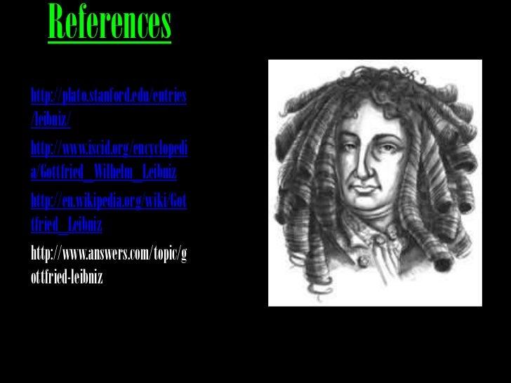 Leibniz's law
