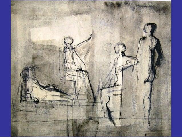Gouaches en pentekeningen van sjaak jansen