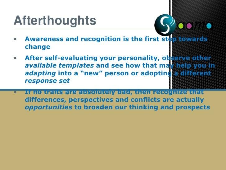 Behaviour/performance is not dependent on personality alone</li></li></ul><li>Personality Models<br /><ul><li>The Big Five
