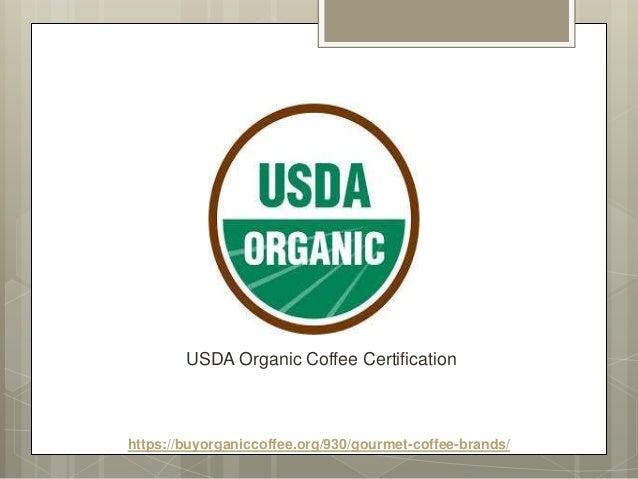 Gourmet Coffee Brands