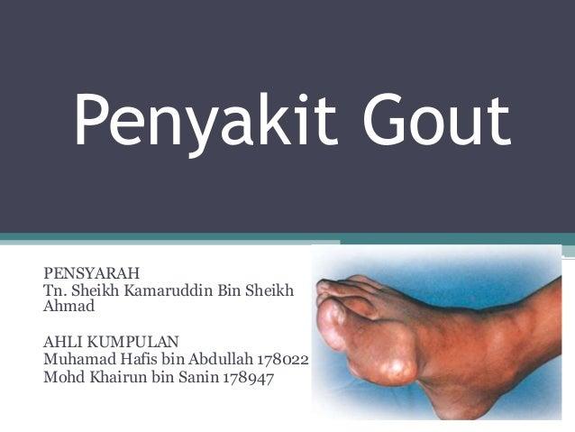 Apa itu Gout: Gejala, Penyebab, Diagnosis, dan Cara Mengobati