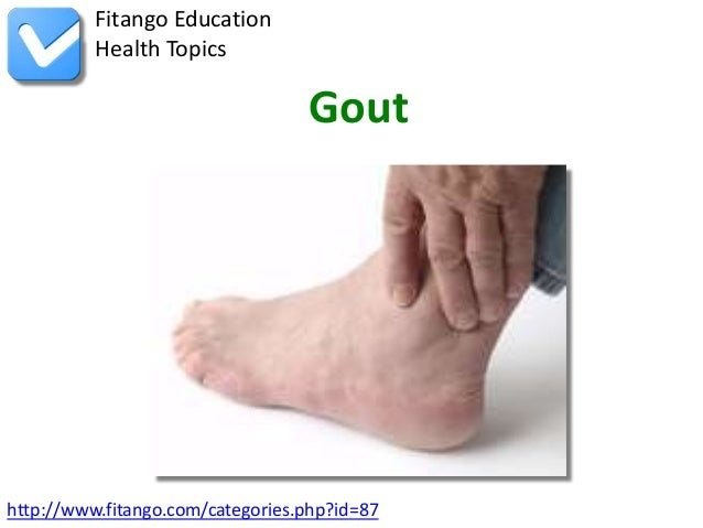 Fitango Education          Health Topics                                  Gouthttp://www.fitango.com/categories.php?id=87