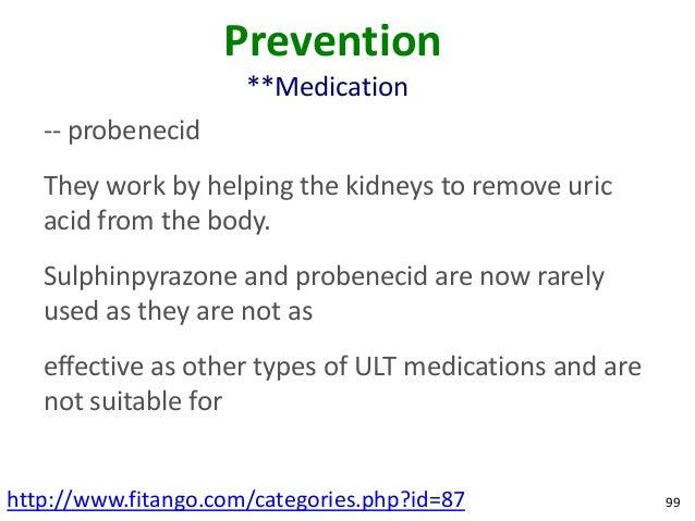 What Kind Of Drug Is Probenecid