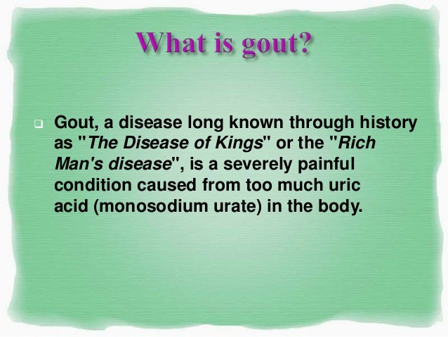 excess uric acid in blood plasma does drinking water reduce gout