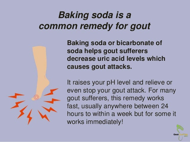 Gout and Baking Soda: Baking Soda a Common Remedy for Gout
