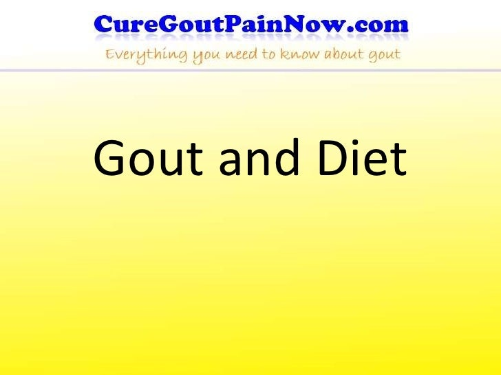 Gout and Diet<br />