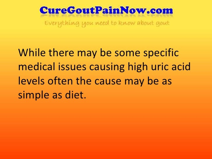 reduce uric acid in blood which food contain high uric acid hot water good for gout