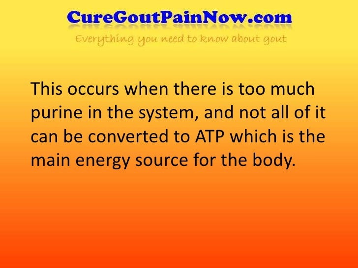 drugs for gout treatment high uric acid kidney stones