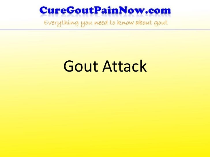 Gout Attack