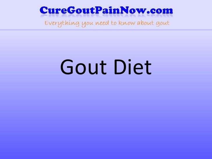 Gout Diet<br />