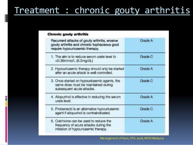 Gout presentation