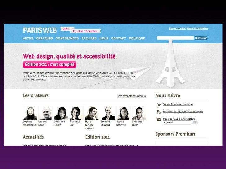 Les gouts et les couleurs - David Rault - ParisWeb 2011
