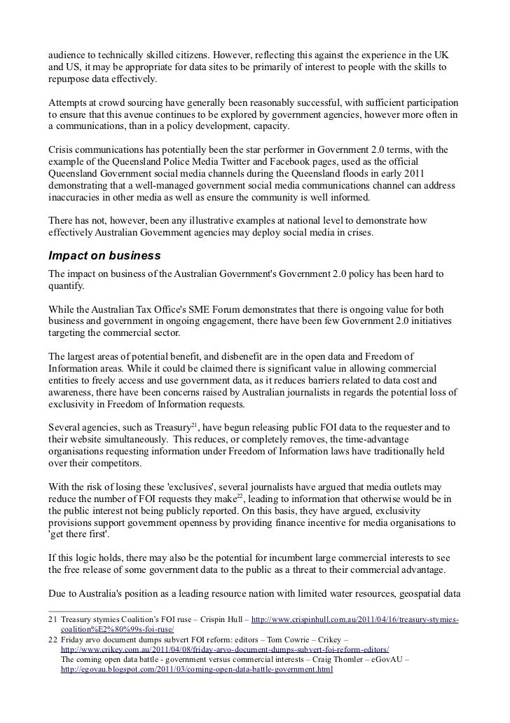 Gov 20 policy in australia v2 9 audience malvernweather Choice Image