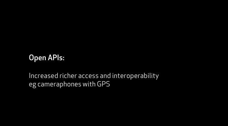 API           Distributed innovation API                             API