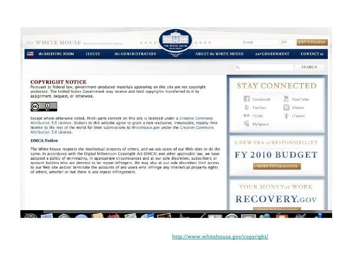 http://www.whitehouse.gov/copyright/