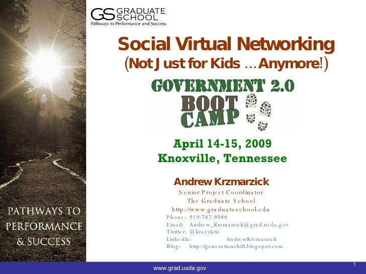 Andrew Krzmarzick Senior Project Coordinator The Graduate School http://www.graduateschool.edu Phone:  919-767-9088 Email:...