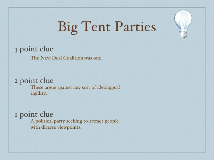 Big Tent ...  sc 1 st  SlideShare & AP Gov Political Parties