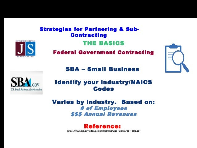 Strategy and large sub contractors