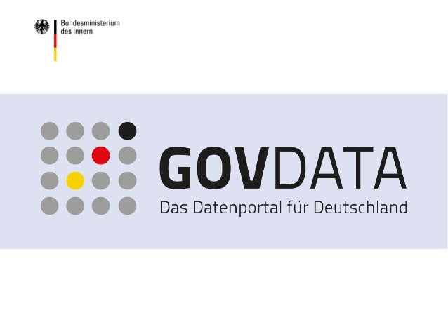 www.bmi.bund.de www.govdata.de