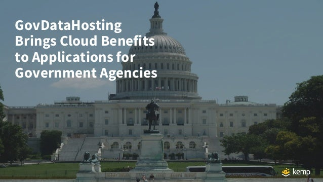 GovDataHosting Brings Cloud Benefits to Applications for Government Agencies