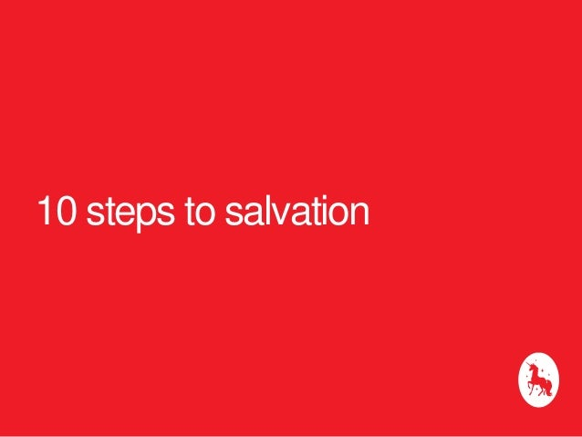 10 steps to salvation