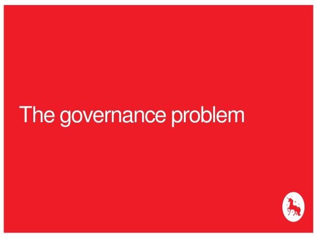 The governance problem