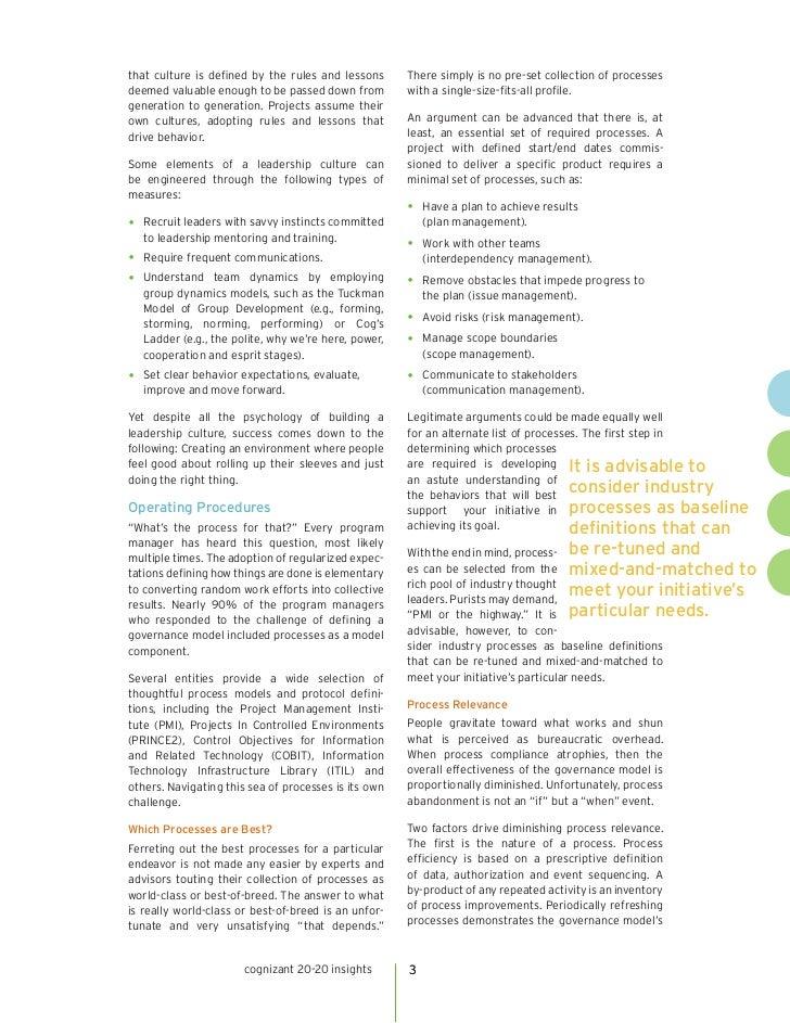 Governance Model: Defined Slide 3